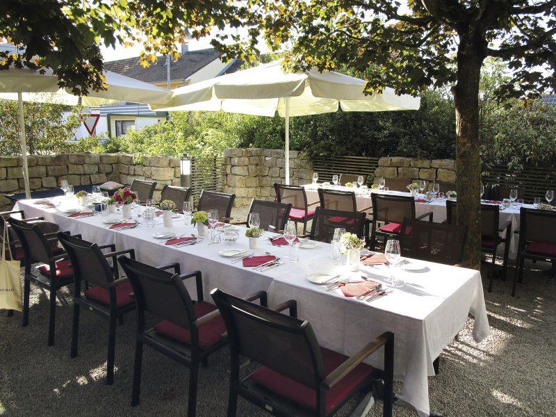 Tafel im Weingarten